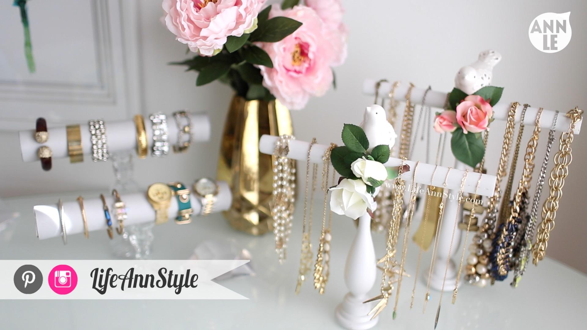 DIY Necklace and Bracelet Holder