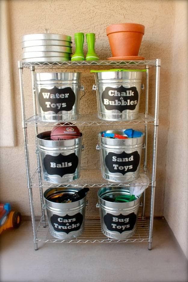 DIY Toy Storage