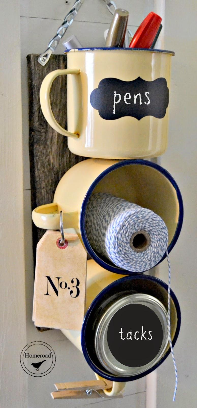 Enamel Mug Organizer