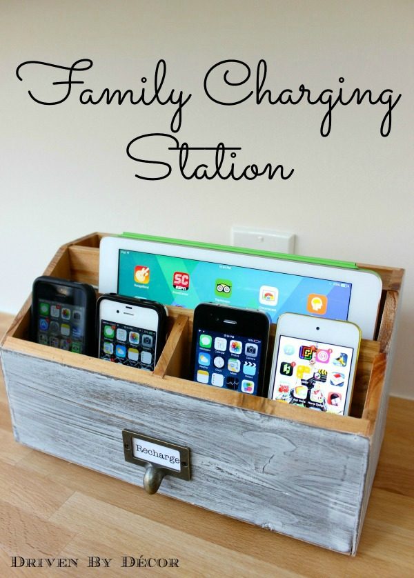 Family Charging USB Outlet Charger