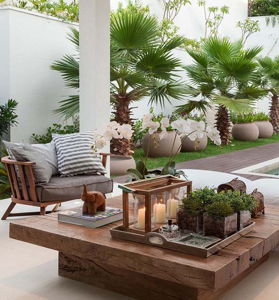 Leaf-Loaded Personal Oasis