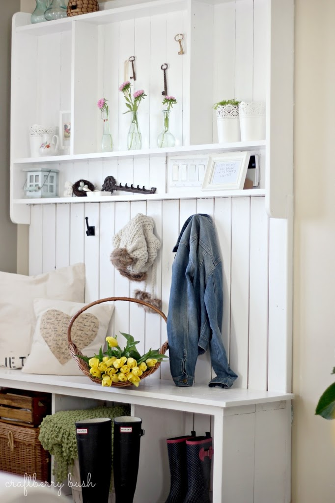Mudroom: Before and After