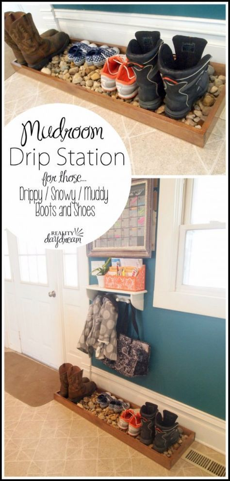 Mudroom Drip Station for Shoes