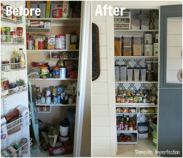 The Less Mess Project : Pantry Reveal