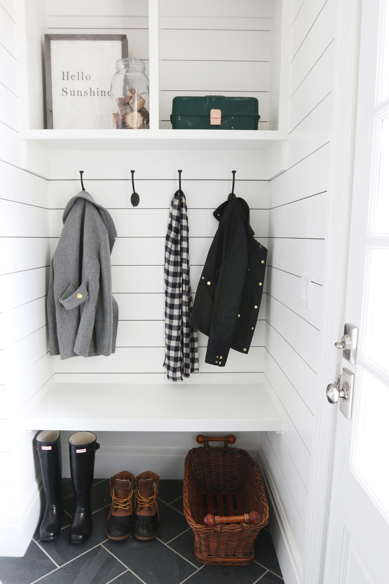 The Midway House Mudroom