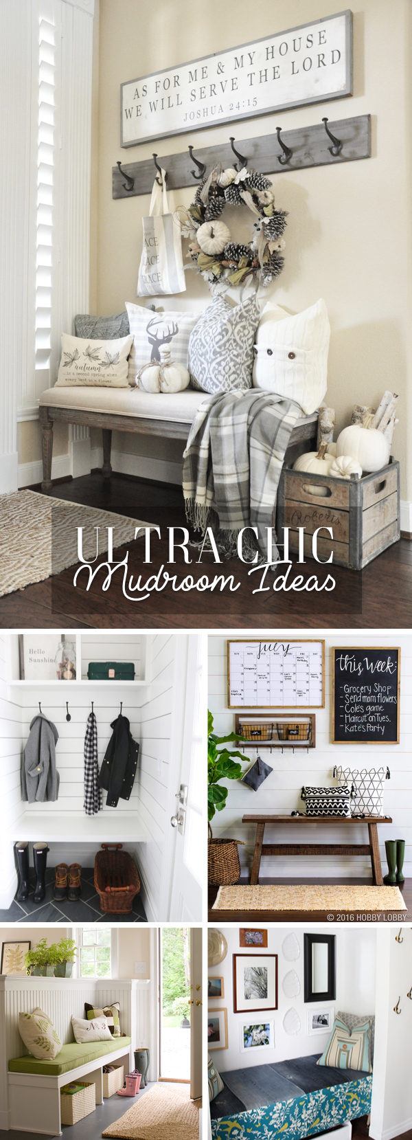 24 Ultra Chic Mudroom Ideas Turning Your Entryway into an Innovative Storage