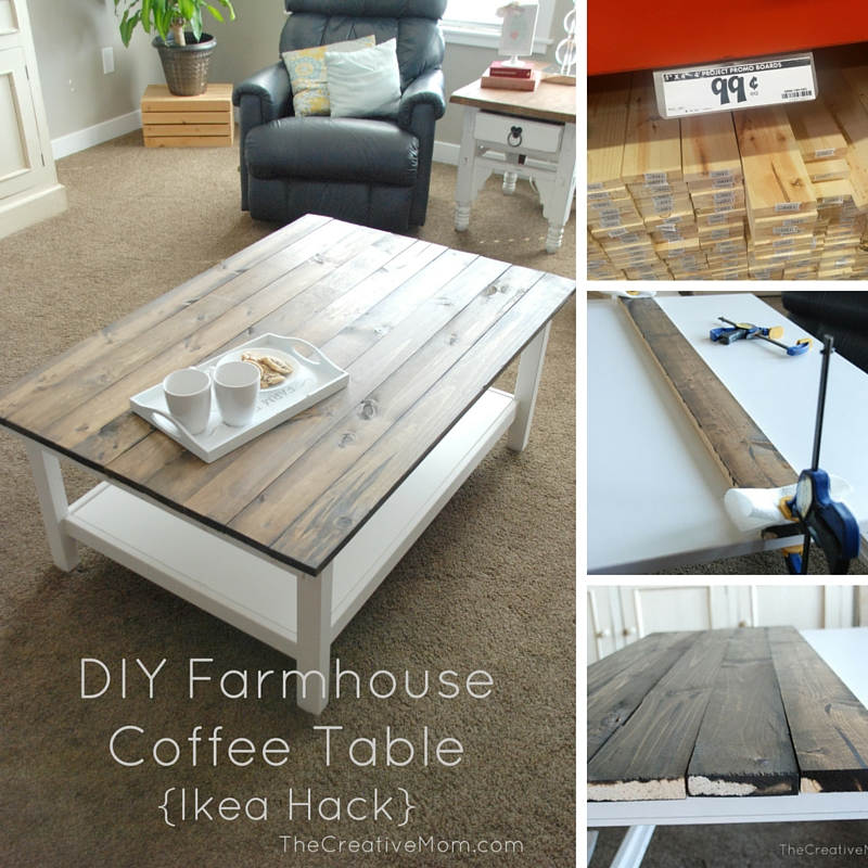 20 DIY Coffee Tables That Are Totally Out-of-The-Box To