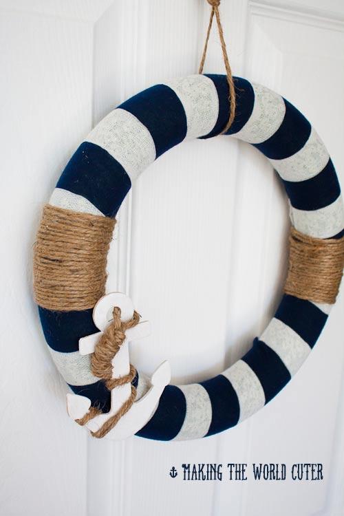 Nautical Decor DIY Wreath