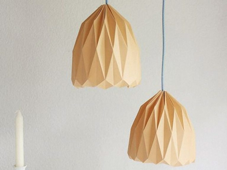 Origami Hanging Lamp Shade