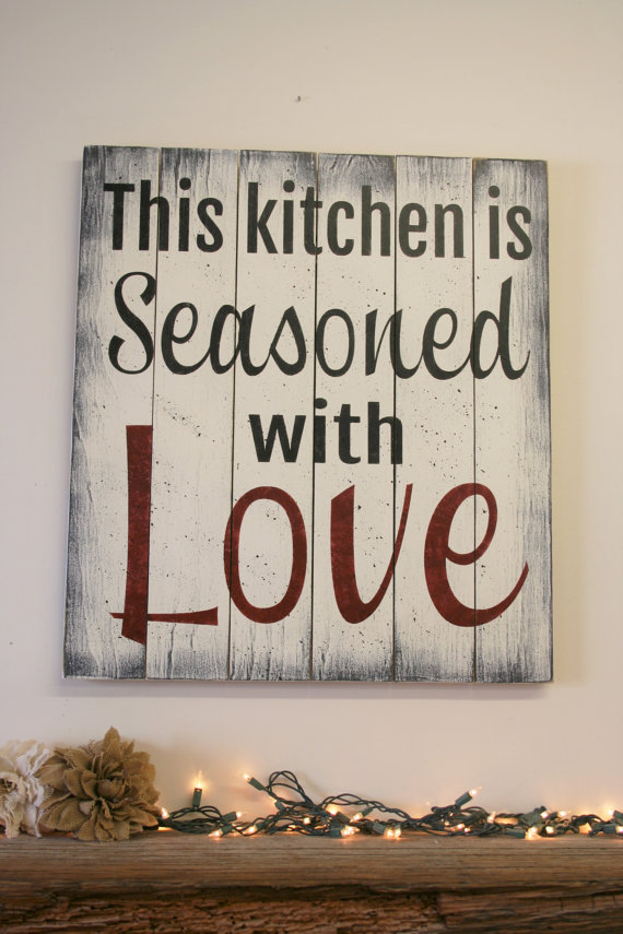 30 Enchanting Kitchen Wall Decor Ideas That Are Oozing With Style