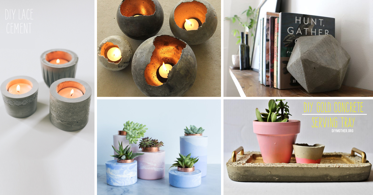 27 Diy Concrete Projects That Ll Add An Industrial Charm