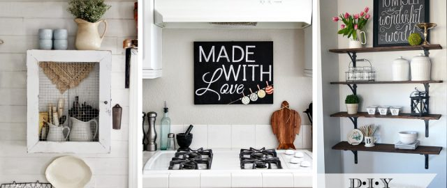 48 Enchanting Kitchen Wall Decor Ideas That Are Oozing With Style Custom Kitchen Wall Decorating Ideas