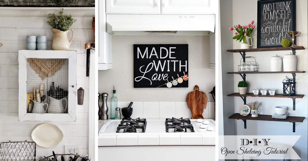 30 Enchanting Kitchen Wall Decor Ideas