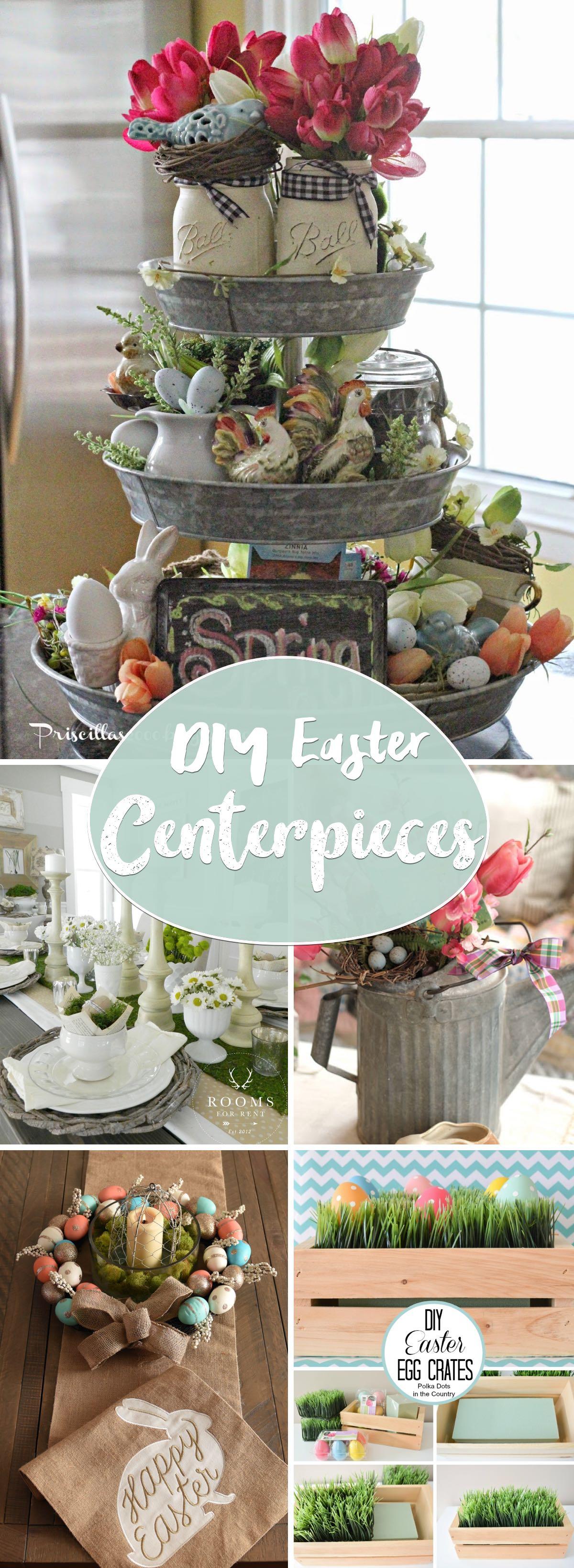 DIY Easter Centerpieces Ready to Cast a Heartwarming Spell