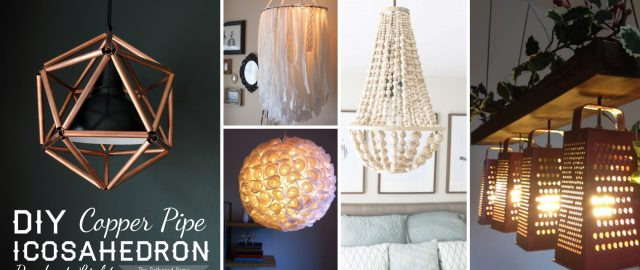 33 DIY Lamps and Chandeliers Lighting Up Your Home With Glory!