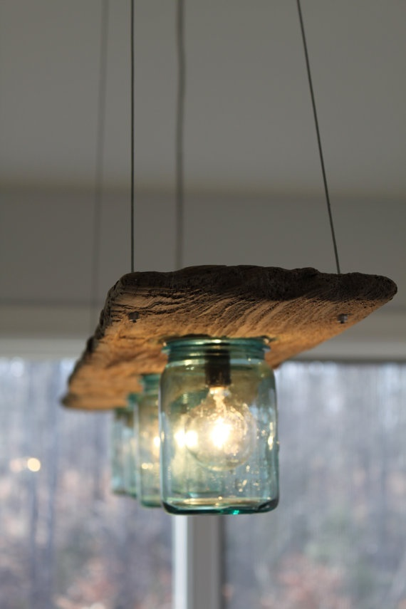 Hanging Barn Board Luminaries