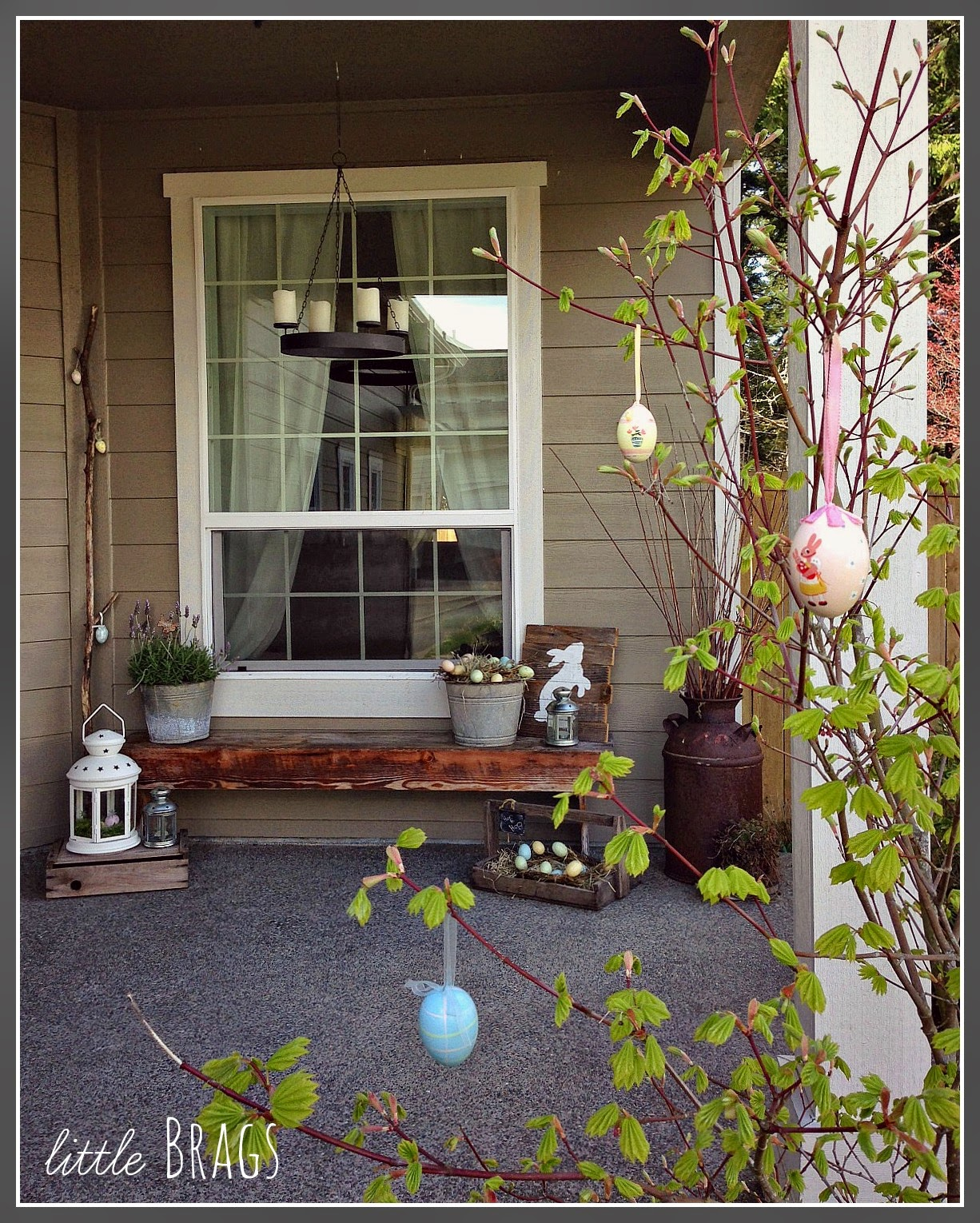 Our Easter Porch