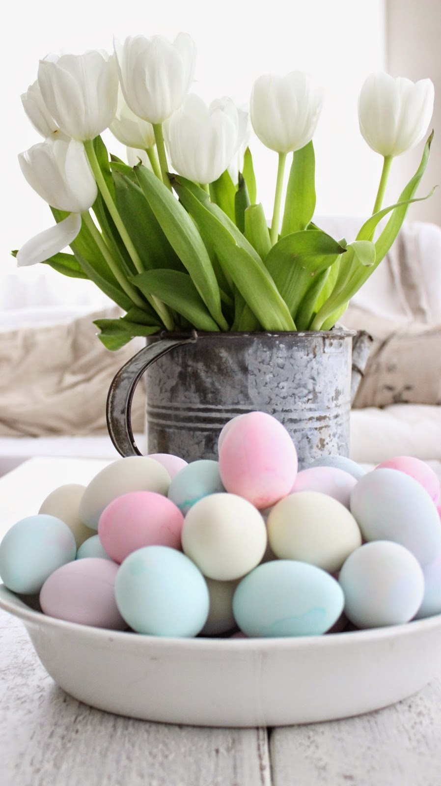 Pretty Pastel Easter Eggs