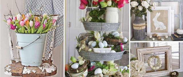 20 Rustic Easter Decorations Bringing A Farmhouse Appeal To