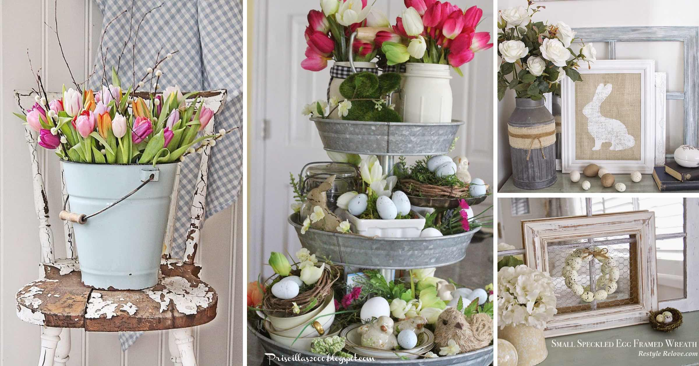20 rustic easter decorations bringing a farmhouse appeal - Home interior decoration ideas ...