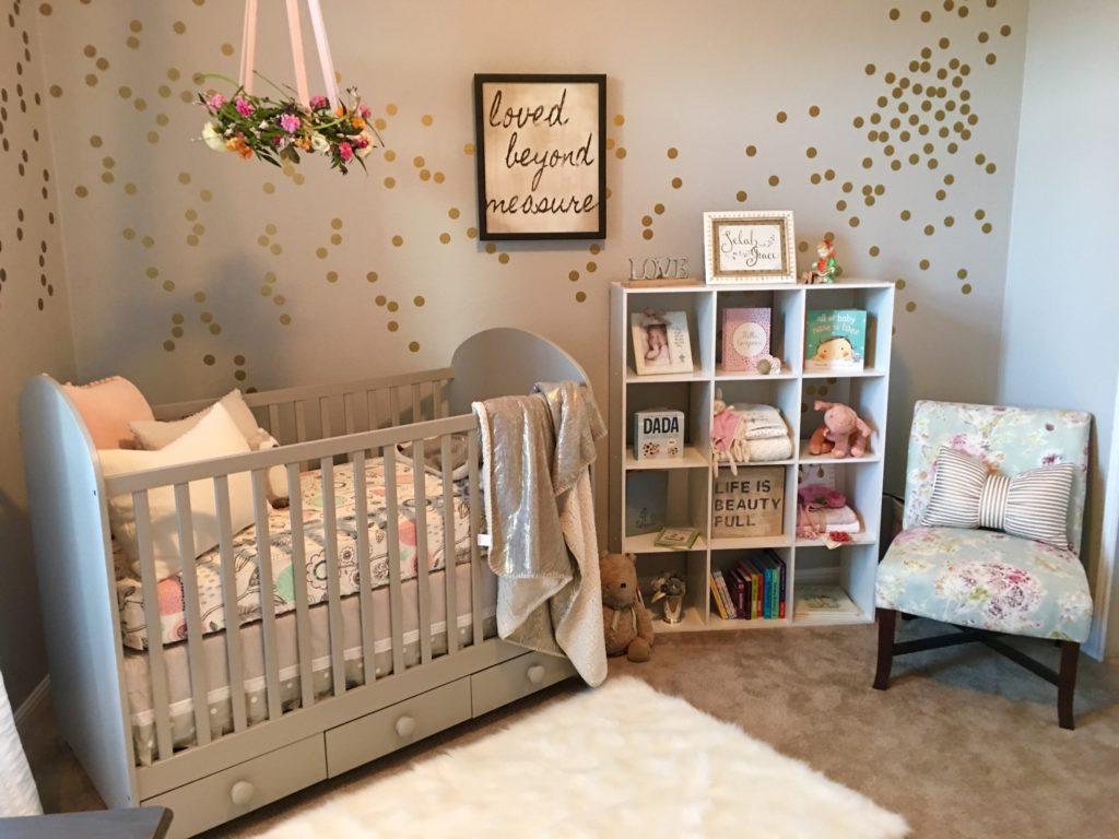 A Serene and Calming Nursery