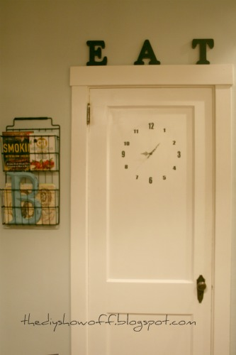DIY Door Clock