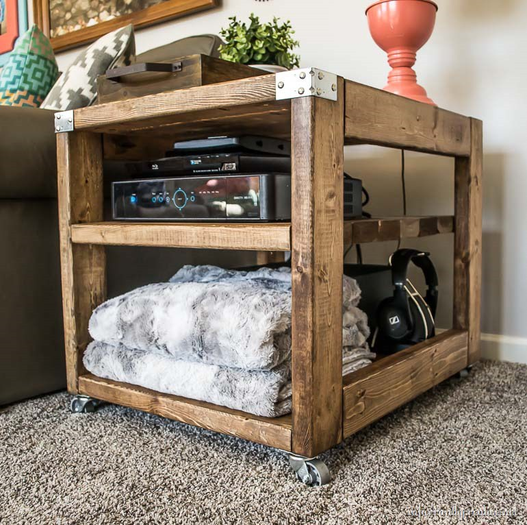 End Table Cart for $20 in Wood