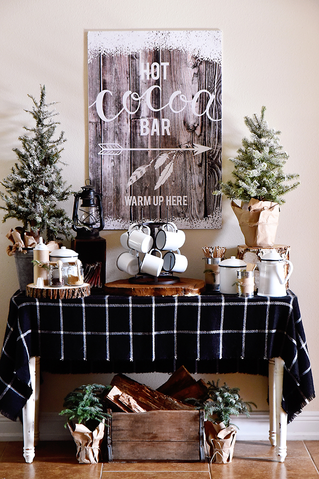 How To : Hot Chocolate Bar