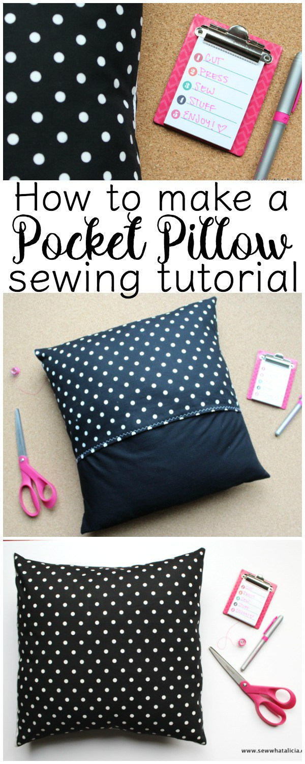 How to Make a Square Pillow Cover