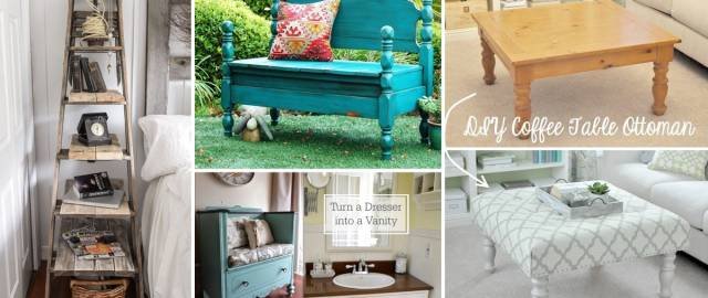 22 Innovative DIY Furniture Hacks Yielding Pieces of Decor and Functionality!