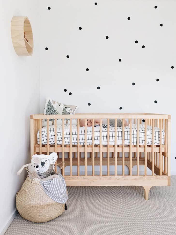 Nursery with Scandinavian Style