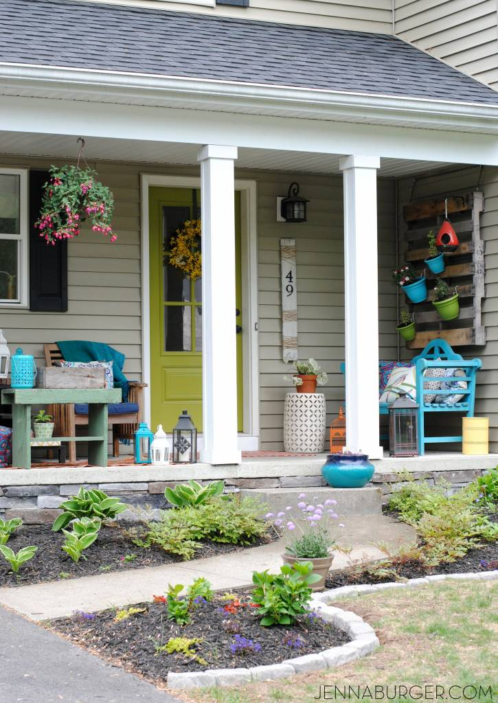 Spring Summer Front Porch