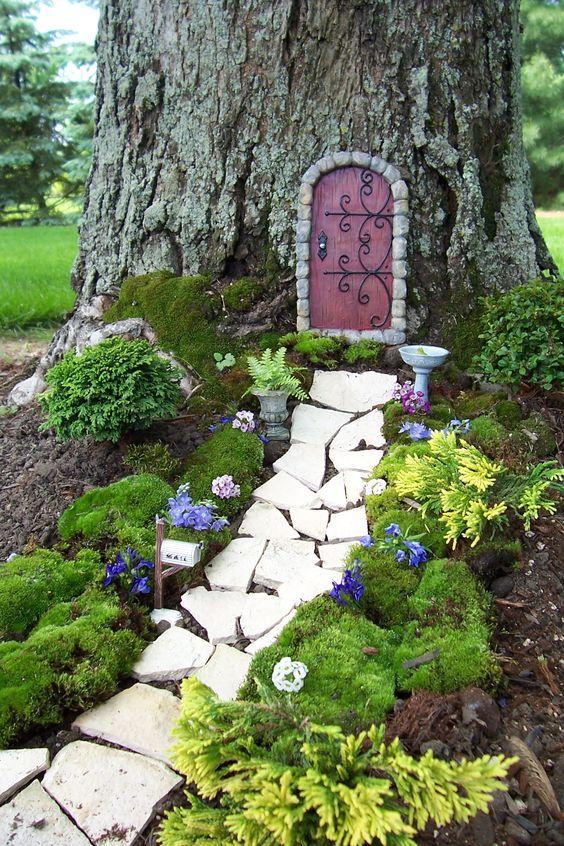 Fairy Garden Walkway