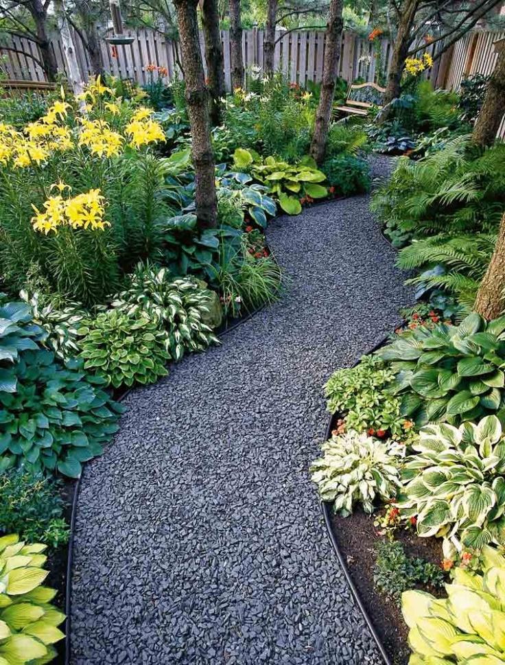 Graveled Pathway