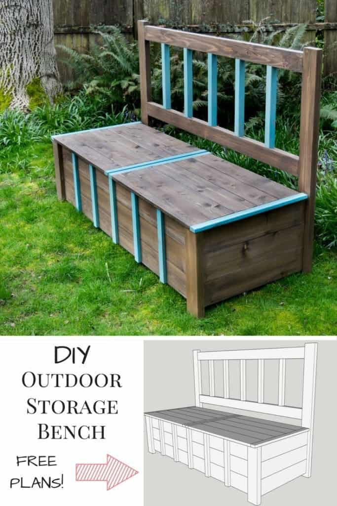 19 Outdoor Storage Benches That Also Work As Gorgeous Seating Solutions
