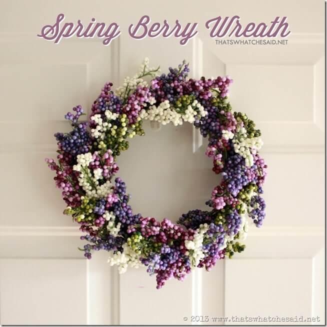 Spring Berry Wreath