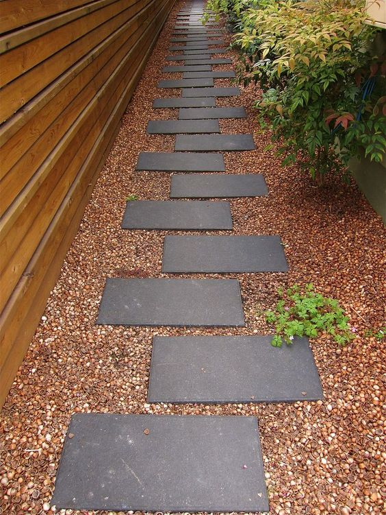 Stepped Pavers Pathway