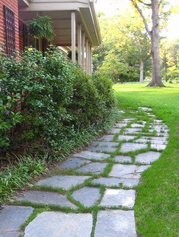 Stone Slate Walkway