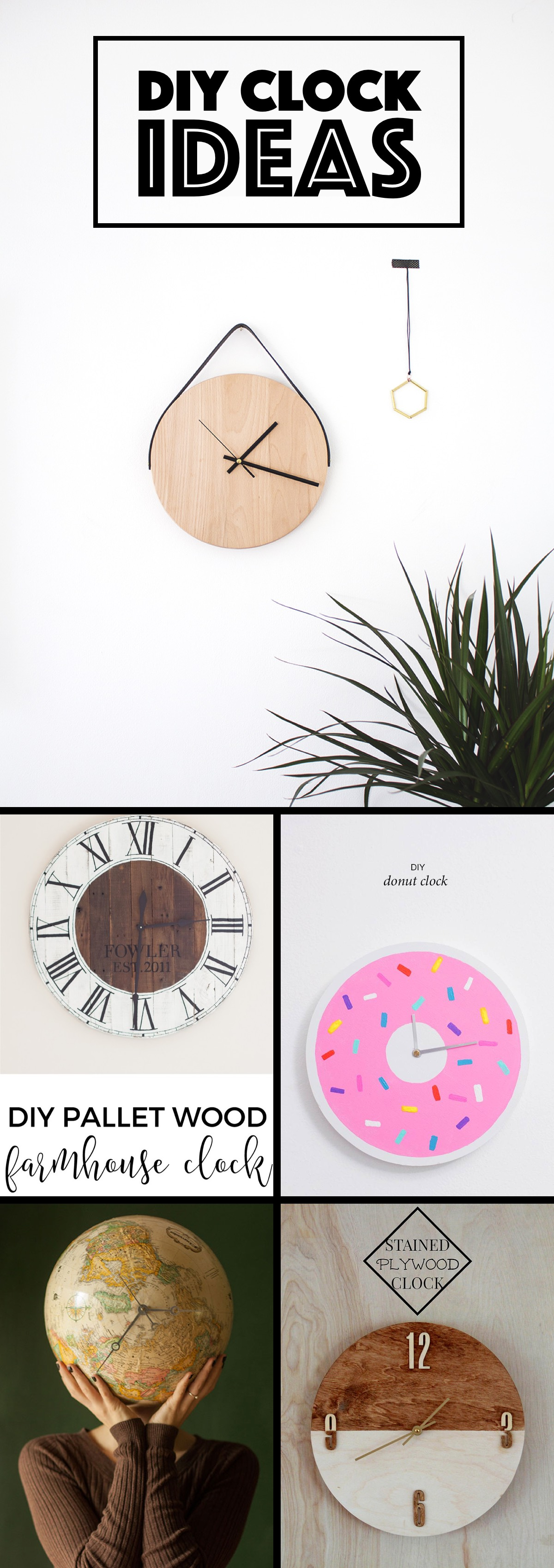 best DIY Clock Ideas