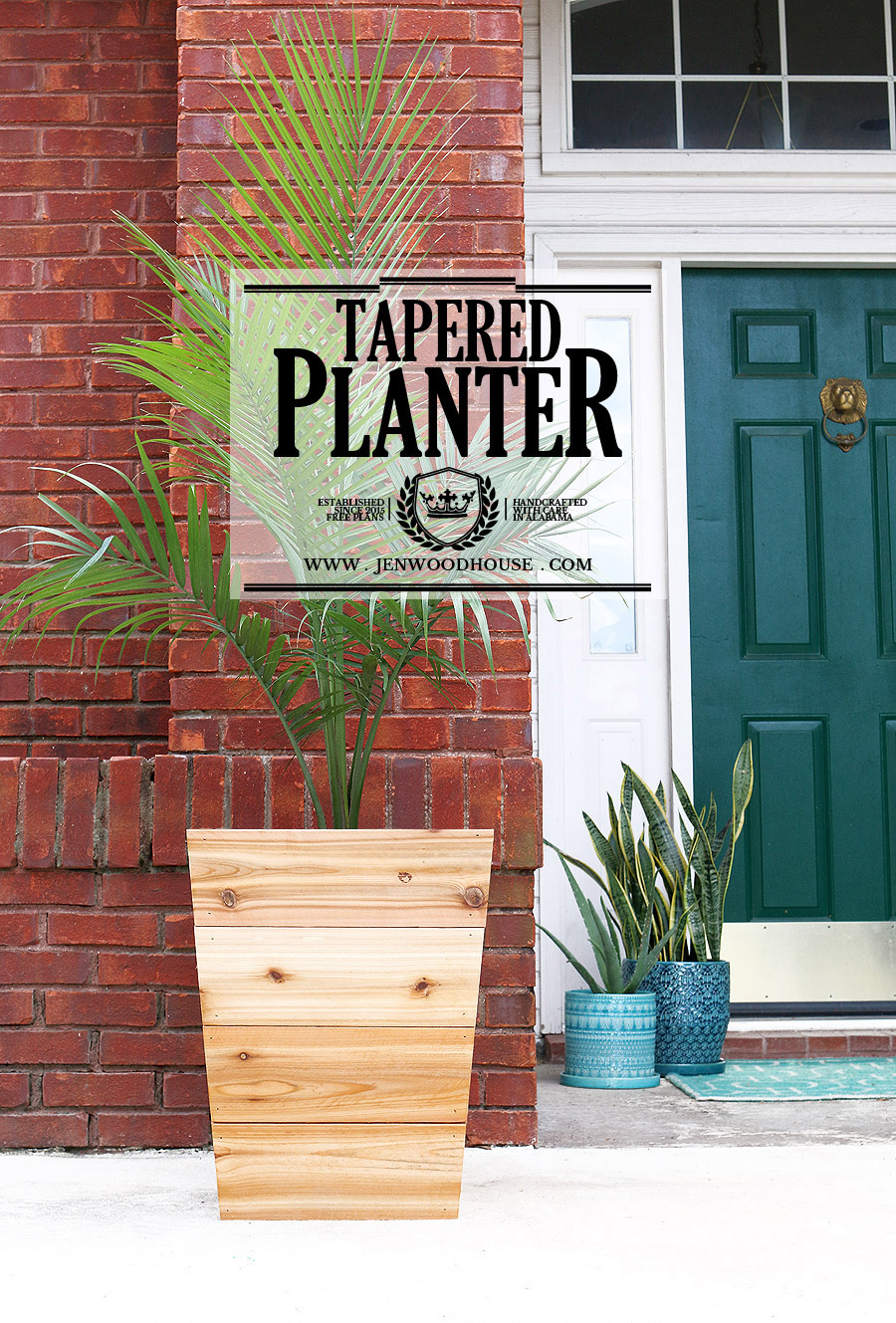 $10 Tapered Cedar Planter
