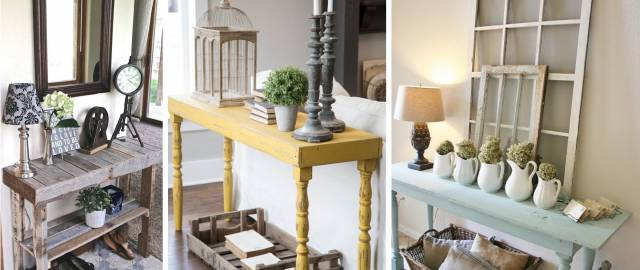 20 Beautifully Rustic Entry Table Ideas Blending Storage with Decor At Their Best!