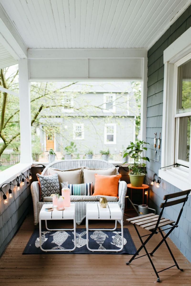 Before and After: How to Style a Small Outdoor Space