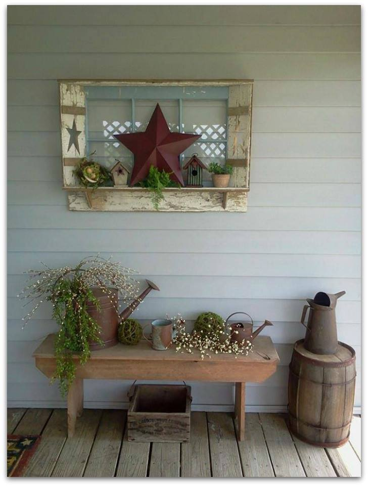 Country Charm Welcome Decor