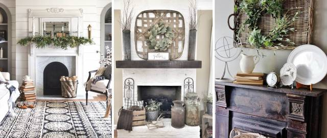 14 Glorious Rustic Mantel Decor Ideas You'll Fall Head Over Heels in Love With!