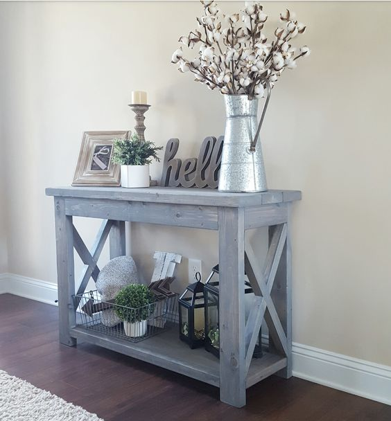 Grey Gets All Rustic