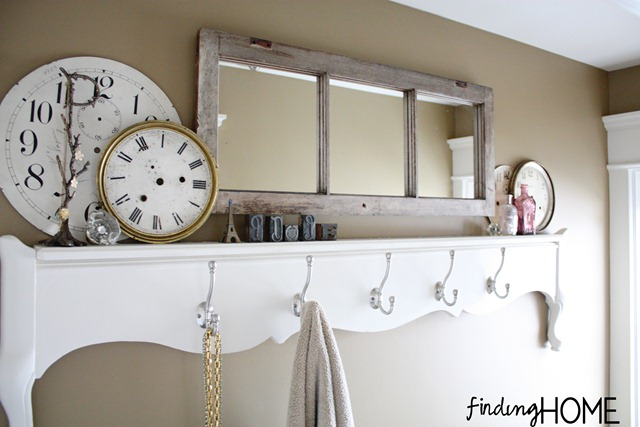 How to Make Bathroom Mirror Rack