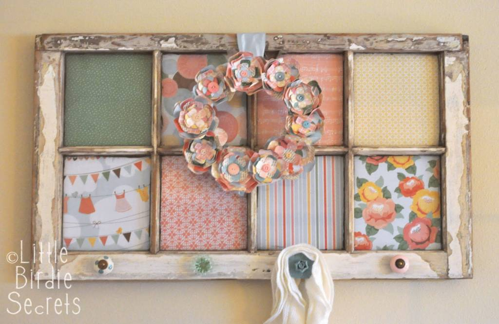 How to Make an Altered Window Frame