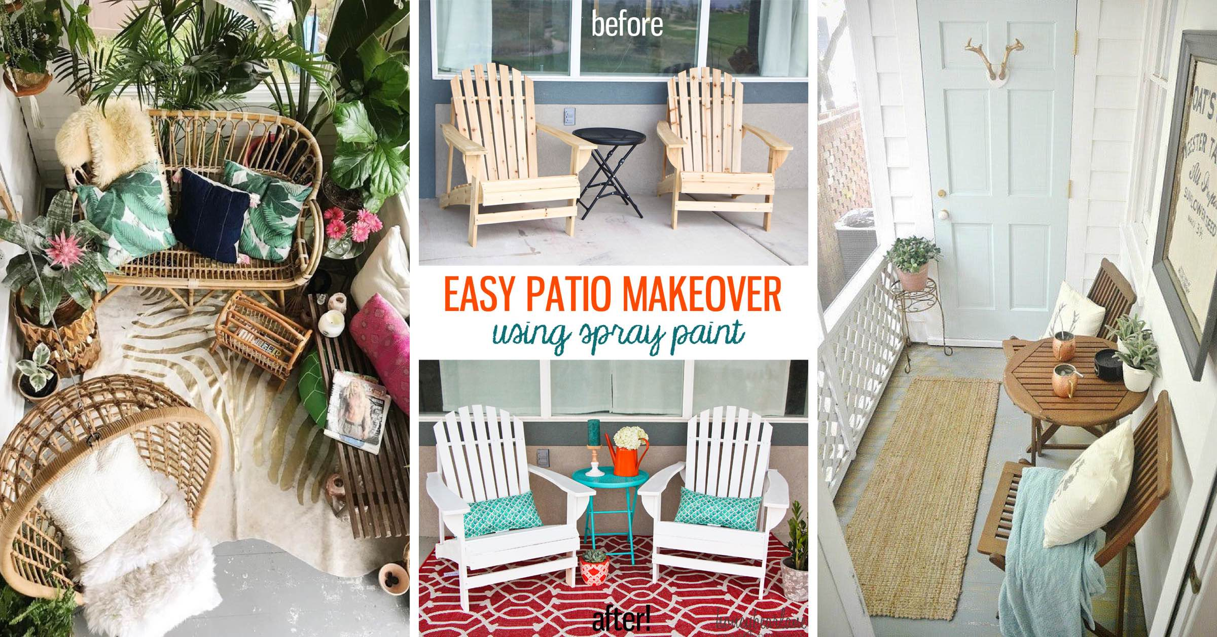 Small Balcony Diy Makeover 2
