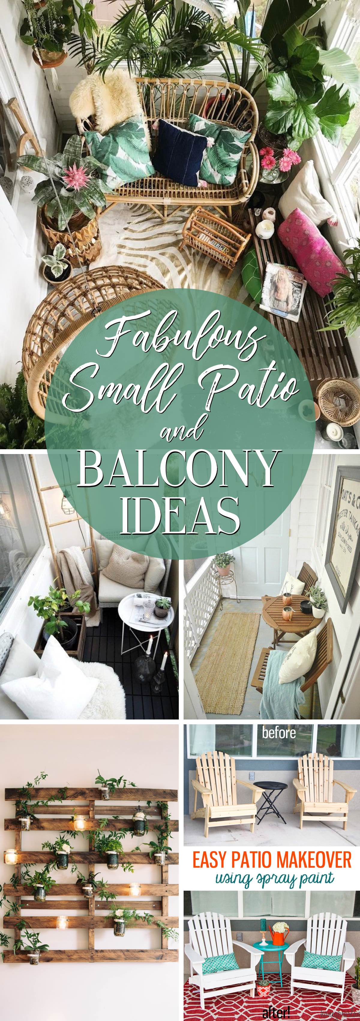Make the Most of a Limited Space with these 19 Fabulous Small Patio and Balcony Ideas
