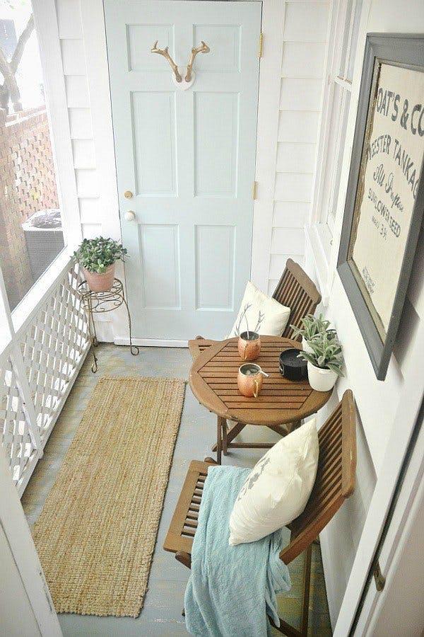 Mini Cafe Balcony or Patio